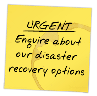 Enquire about our disaster recovery options